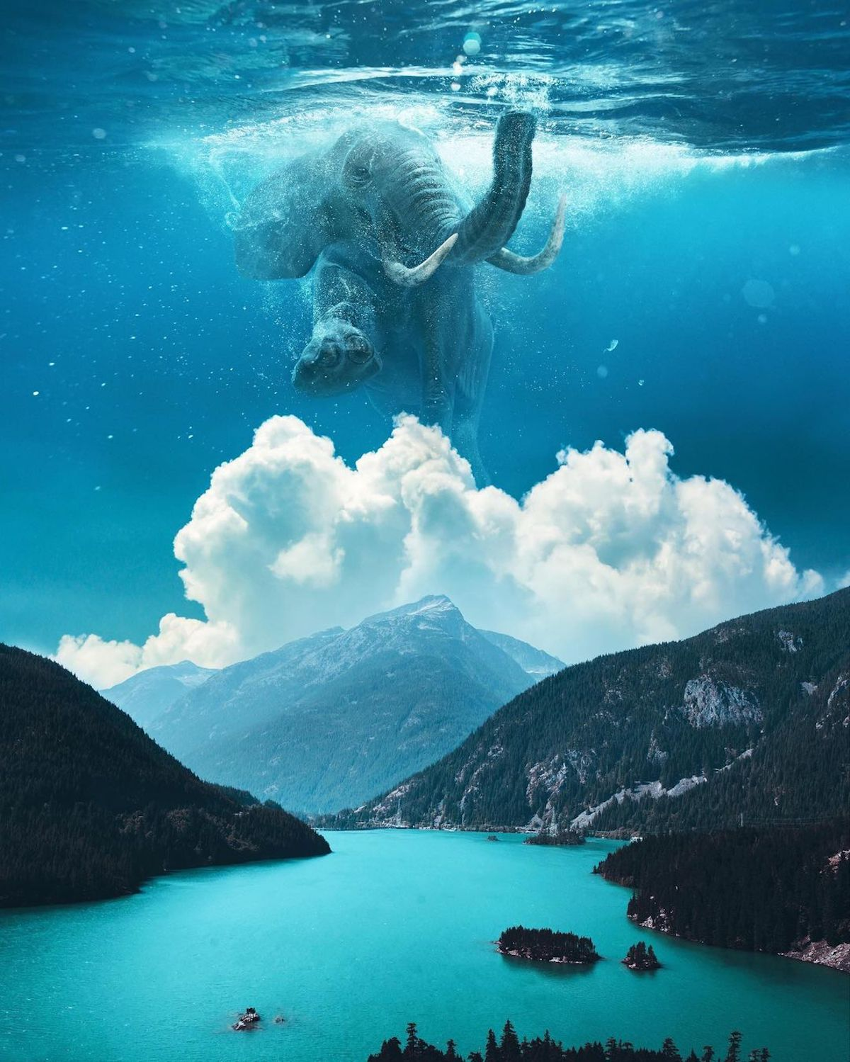 Creative Photo Manipulations by Ted Chin