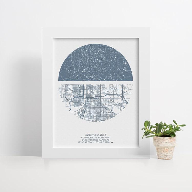 Under the Stars Location Print