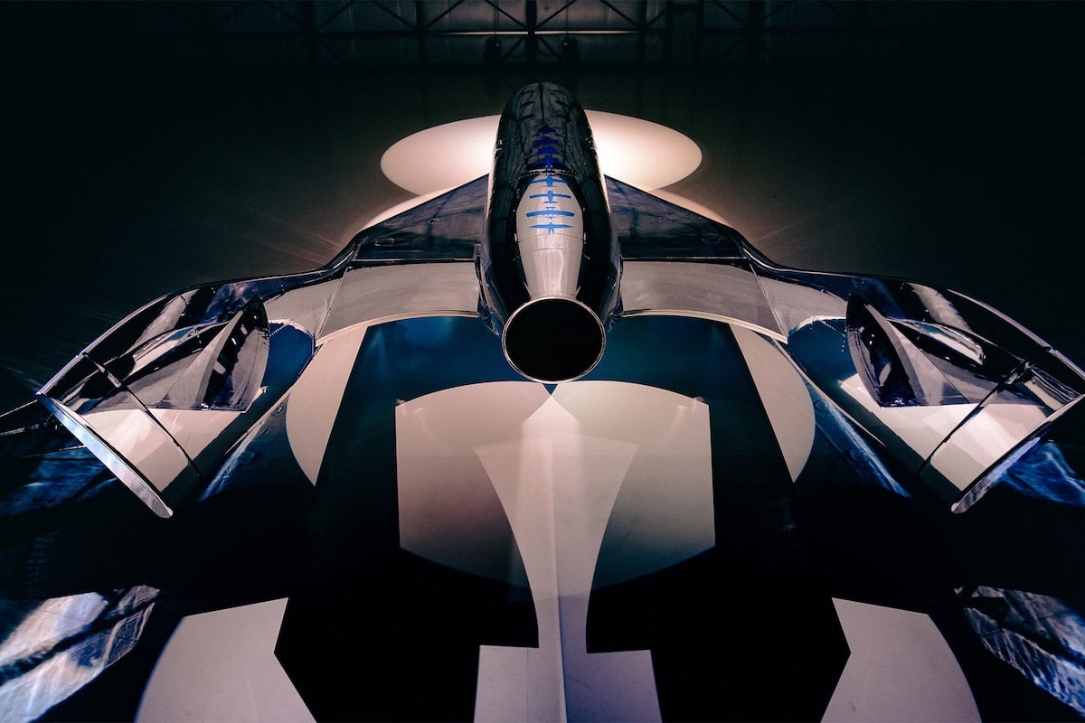Virgin Galactic Unveils Its first Spaceship III Called the VSS Imagine