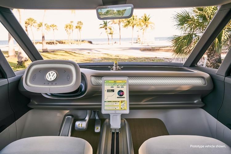 Volkswagen ID Buzz Dashboard