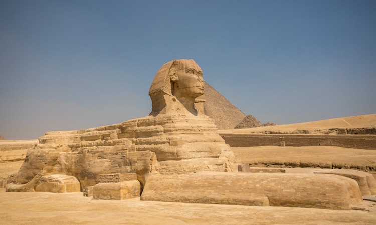 What is the Great Sphinx of Giza?