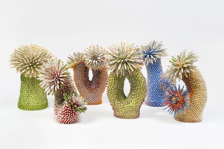 Ceramic Sculptures by Zemer Peled