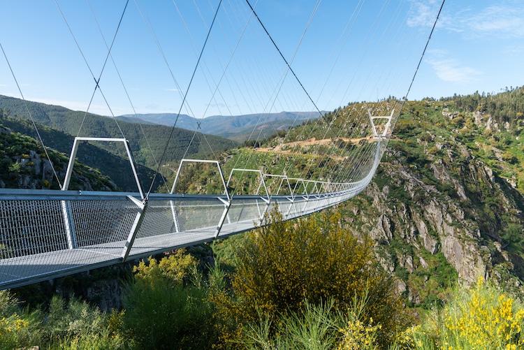 516 Arouca in Portugal claims to be the world's longest pedestrian suspension bridge