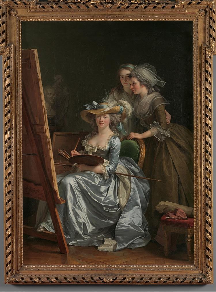 Adélaïde Labille-Guiard Self-Portrait