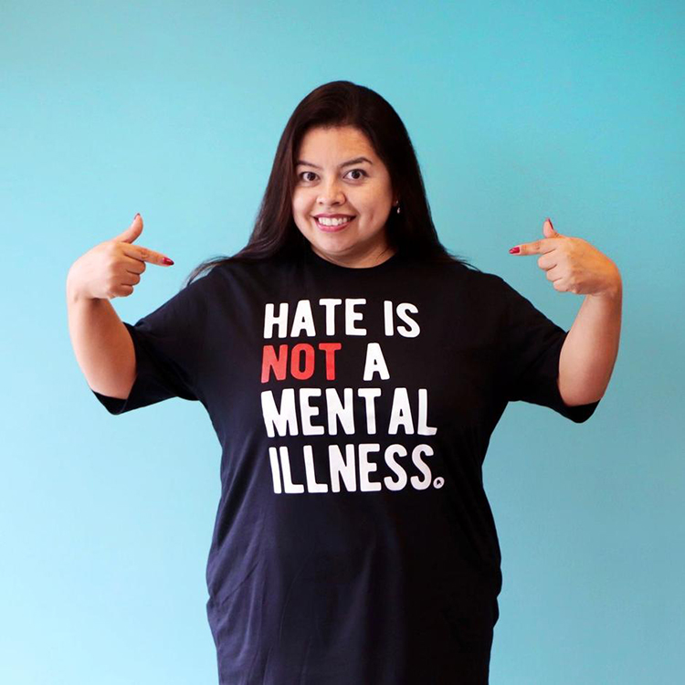Hate is NOt A Mental Illness by Mental Health America