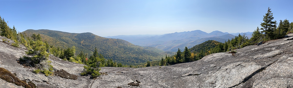 Adirondack Mountains Panoramic Photo from iPhone