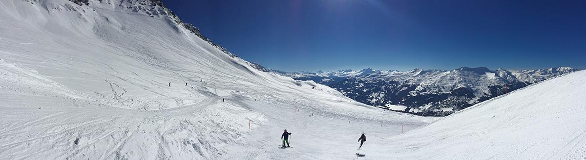 Alps Shot on Panoramic Mode