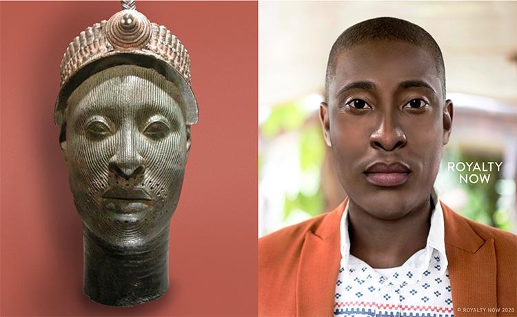 Yoruba Ruler, Bronze Ife Head