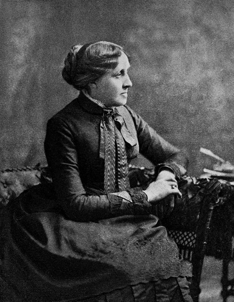 Louisa May Alcott, Author who lived in Concord, Massachusetts