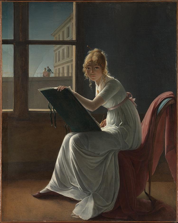 Marie Joséphine Charlotte du Val d'Ognes by Marie-Denise Villers