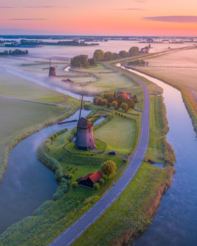 Zaanse Schans Windmill Park