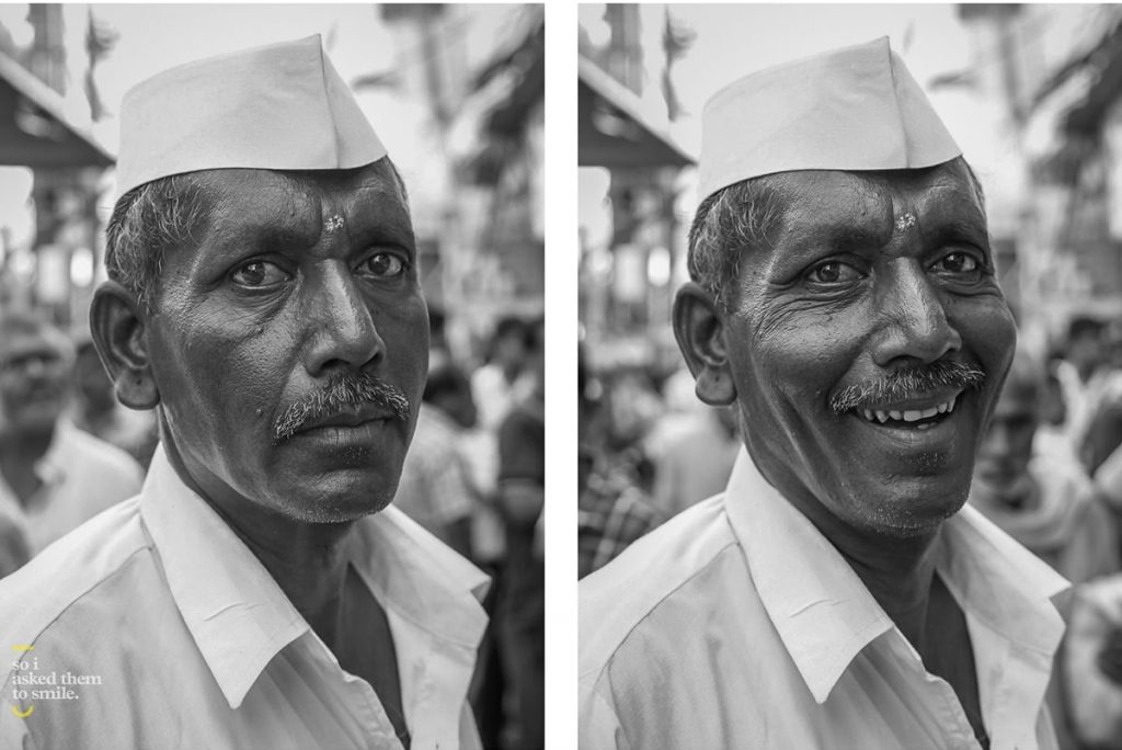 So I Asked Them To Smile by Jay Weinstein, PIctuyre of an Older Man Smiling