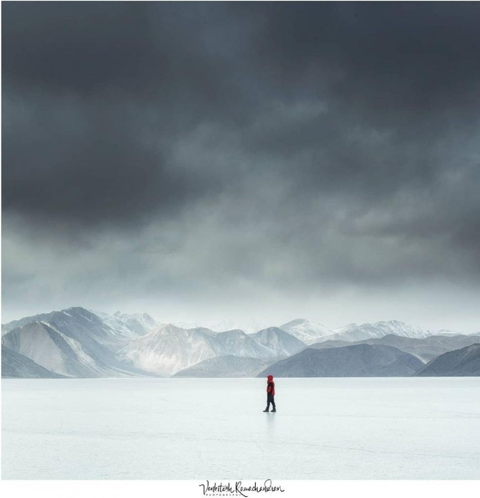 Venkitesh Ramachandran Photographs Ladakh, INdia In Winter