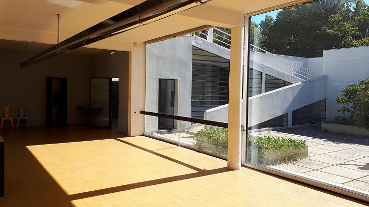 Villa Savoye vue du salon