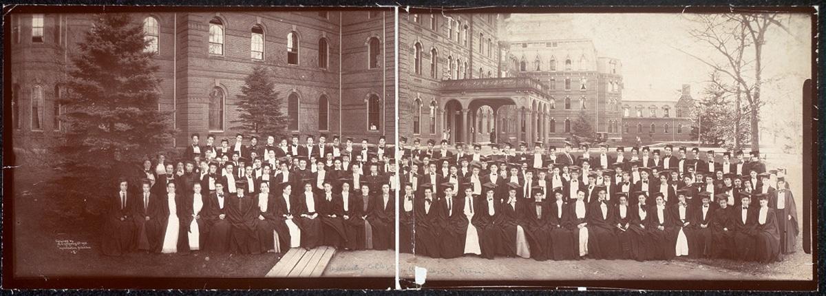 Wellesley College Students, circa 1903