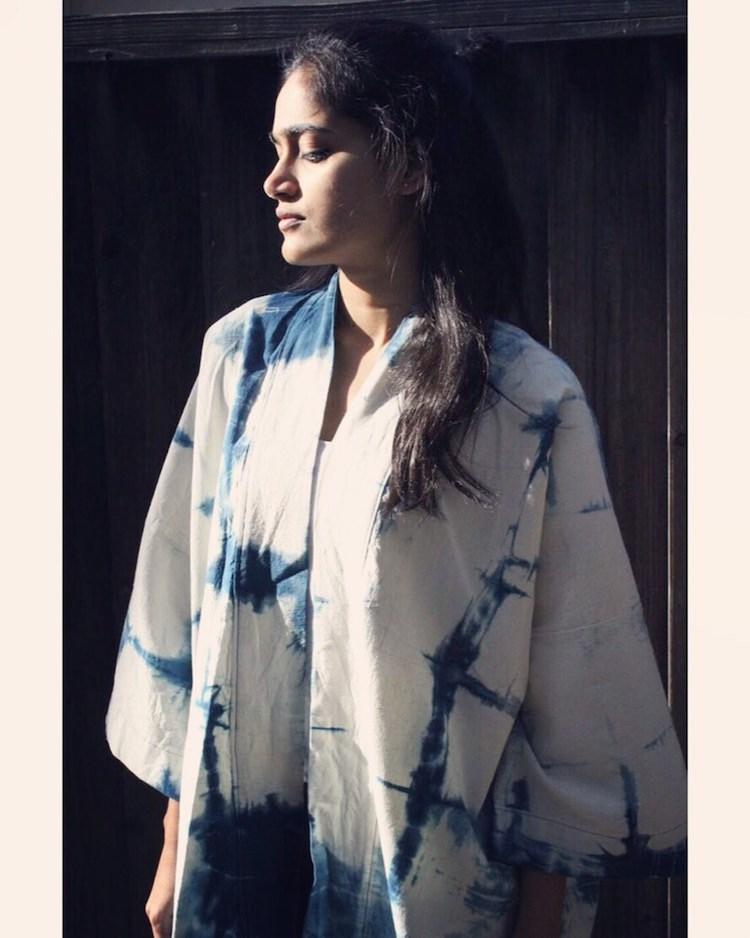 Shibori Dyed Kimono