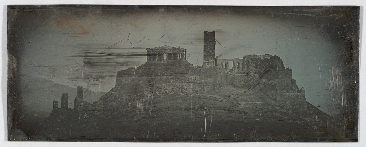 Western Approach to the Acropolis, Athens, 1842.