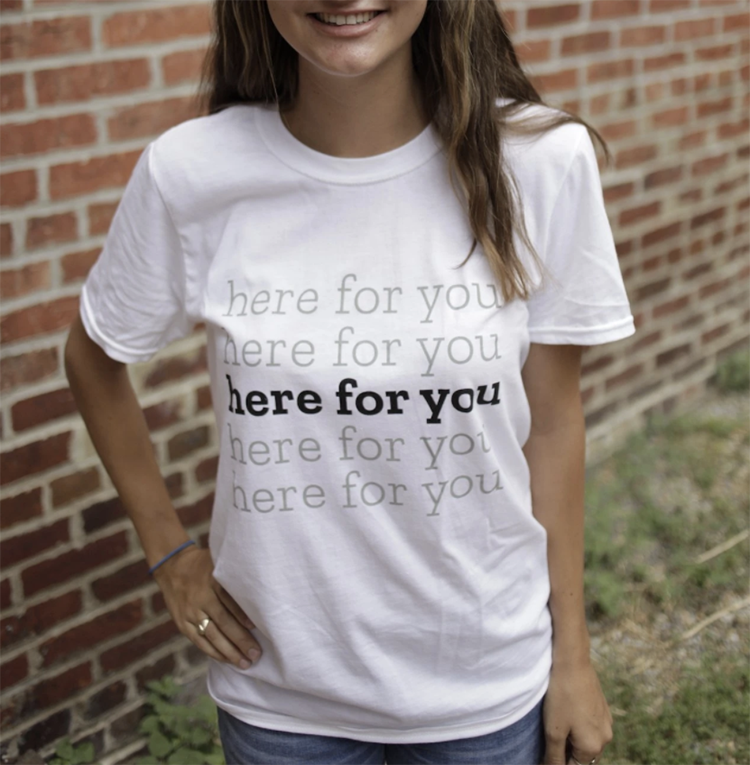 Active Minds Here For You T-Shirt