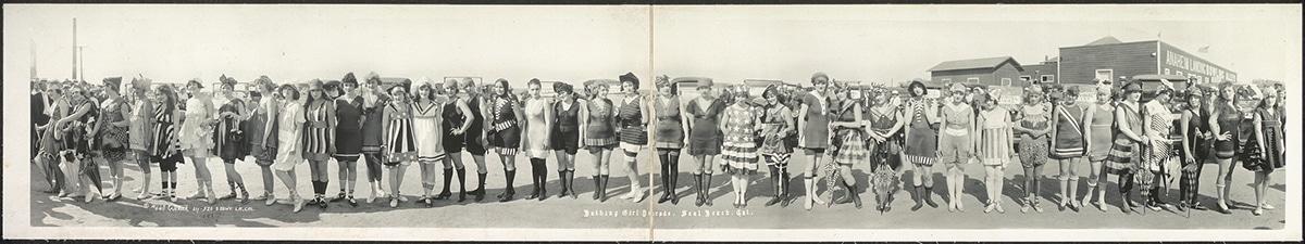 Bathing Girl Parade, Seal Beach, Cal.