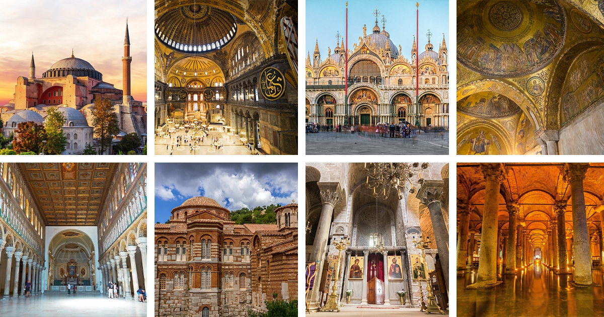 Examples of Byzantine Architecture