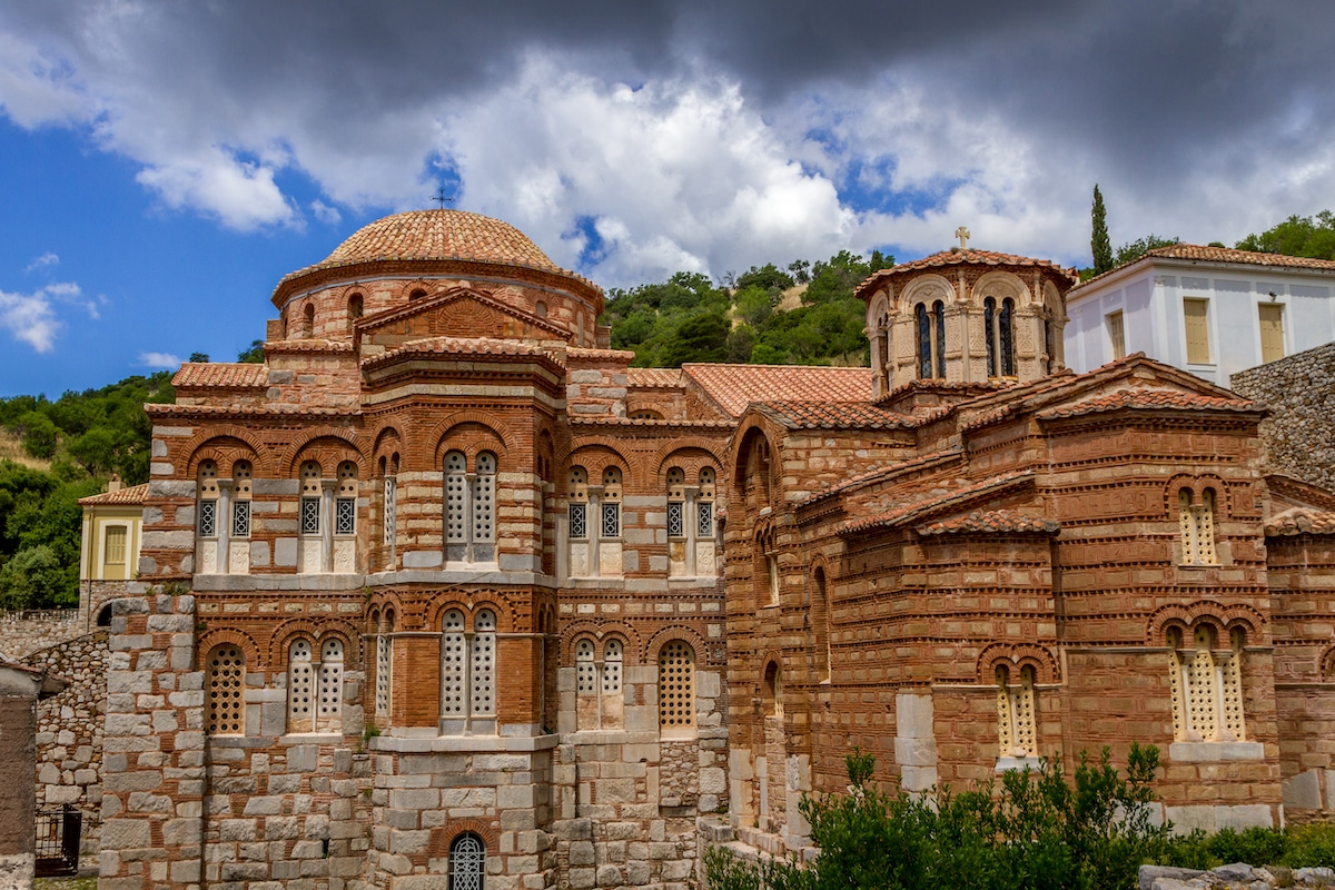 Hosios Loukas, a famous example of Byzantine architecture