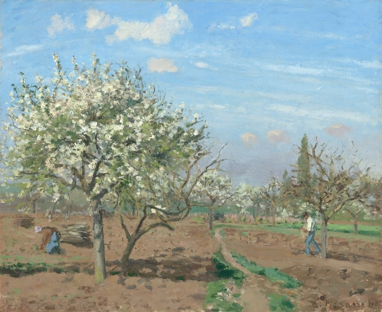 Landscape Painting by Camille Pissarro