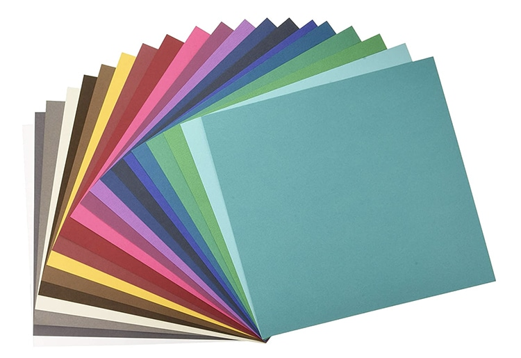 Colorful Cardstock Pack for Card Making