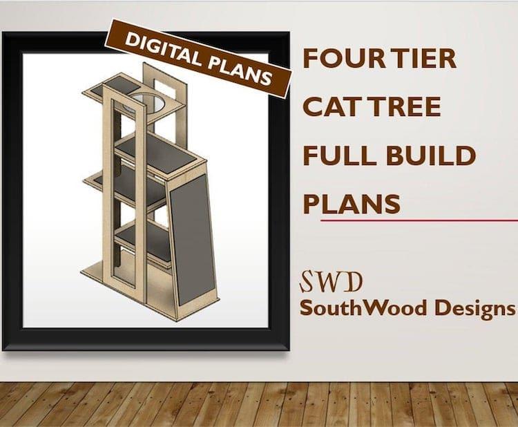 Four Tier Cat Tree