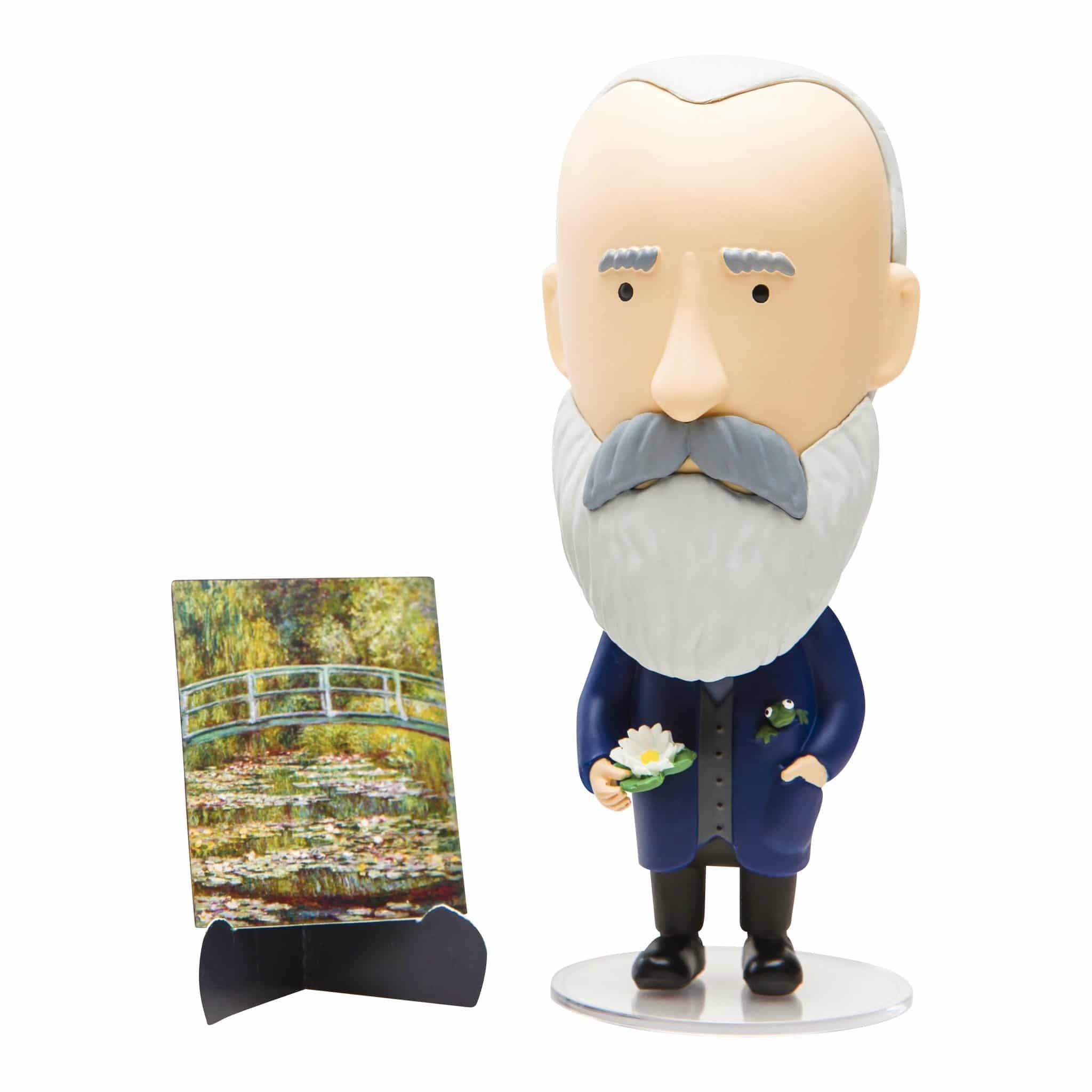 Claude Monet Action Figure