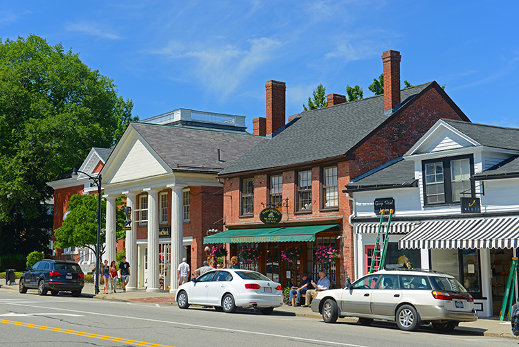 Concord, Massachusetts a Historic Colonial Town
