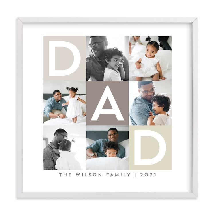 Father's Day Photo Collage from Minted