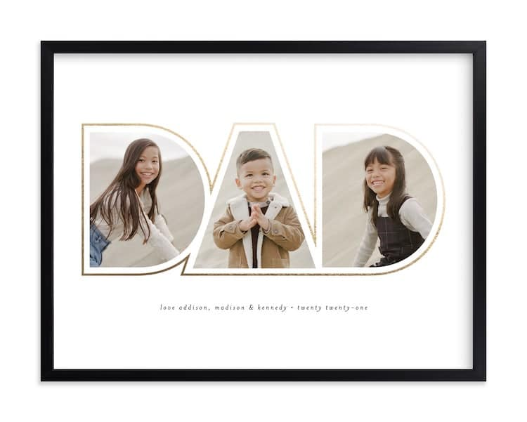 Custom Photo Art for Father's Day