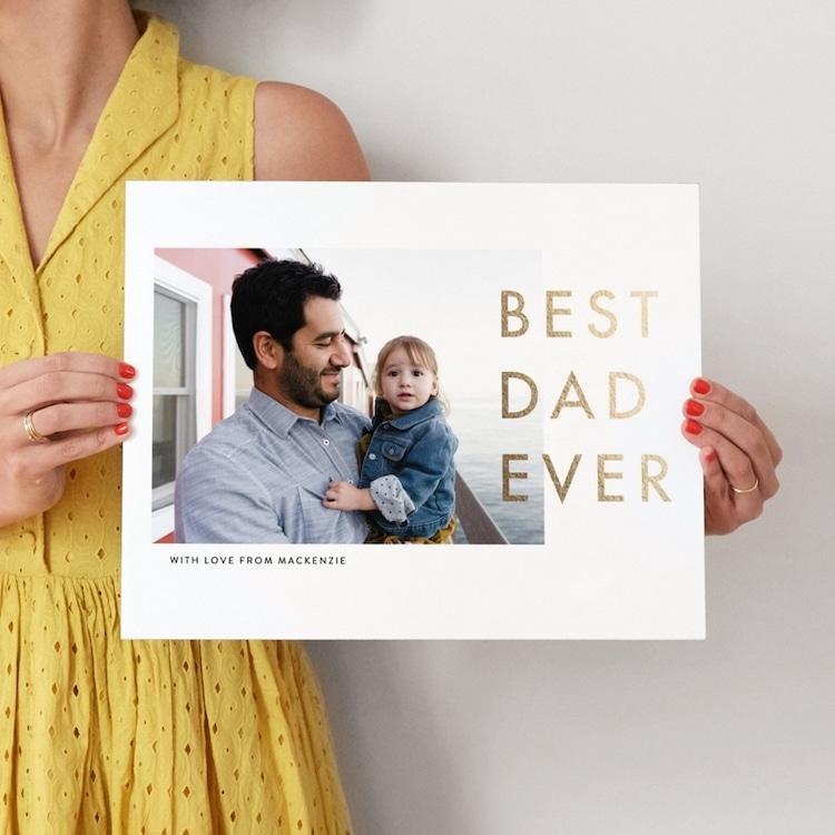 Best Dad Ever Photo Art