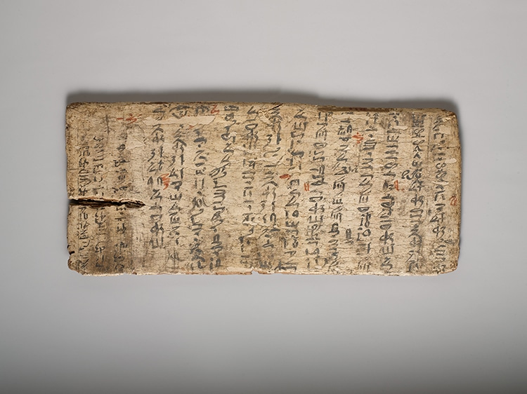 Ancient Egyptian Student's Writing Board Shows Teacher's Corrections From 4,000 Years Ago