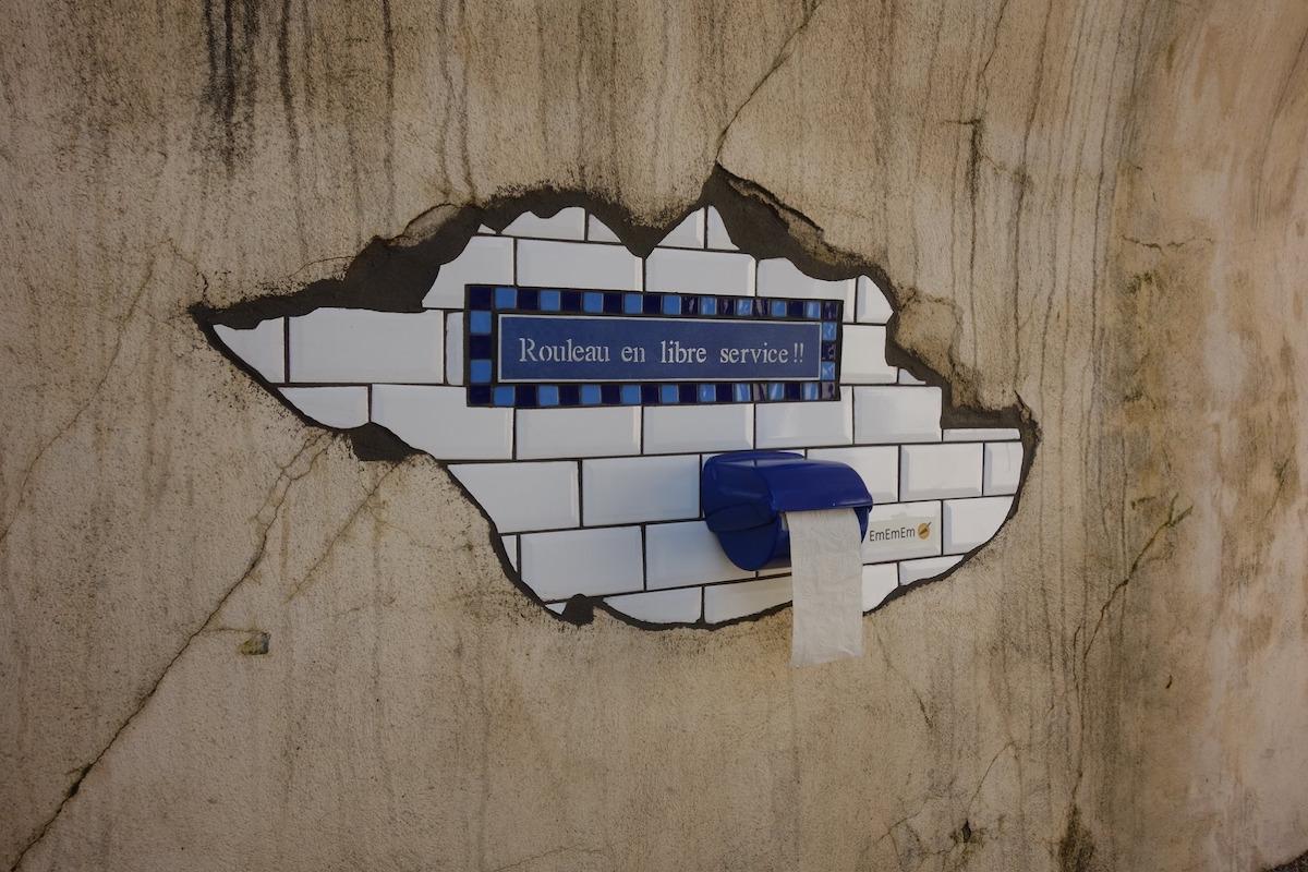 Ememem Flacking Street Mosaic Art