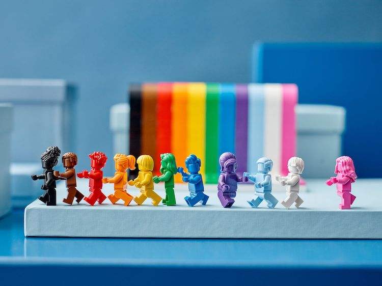Everyone Is Awesome Pride Month LEGO Set
