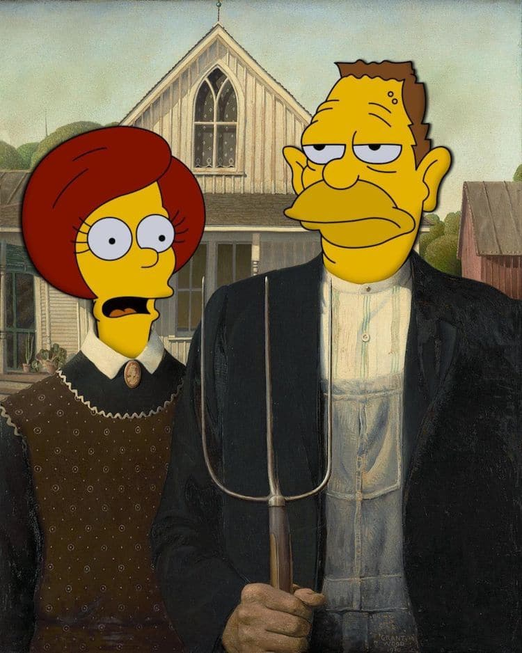 Fine Art Simpsons