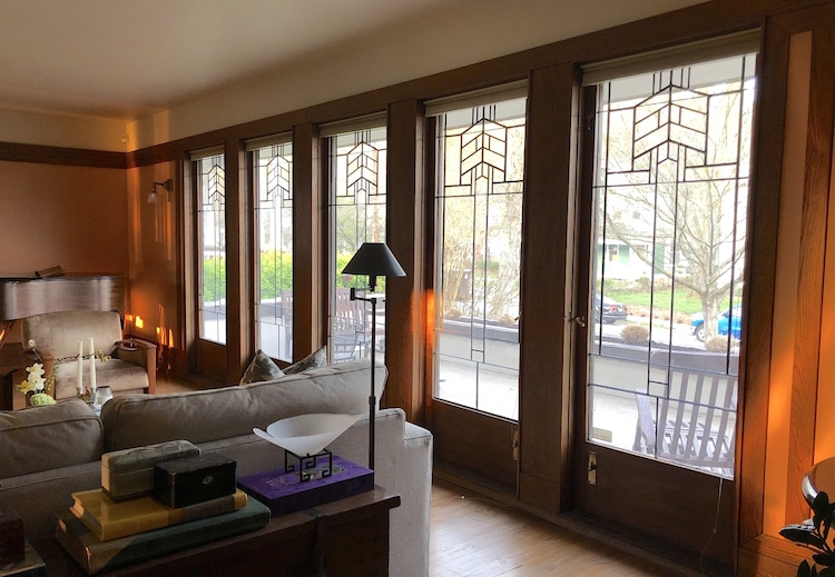 Zeigler House, a Wright-designed building the Frank Lloyd Wright Building Conservancy's Way Out and About Wright 2021 Virtual Tour