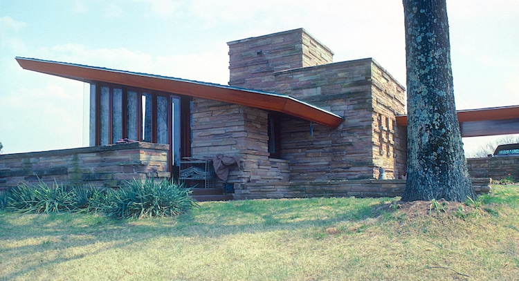 Shavin House, a Wright-designed building the Frank Lloyd Wright Building Conservancy's Way Out and About Wright 2021 Virtual Tour