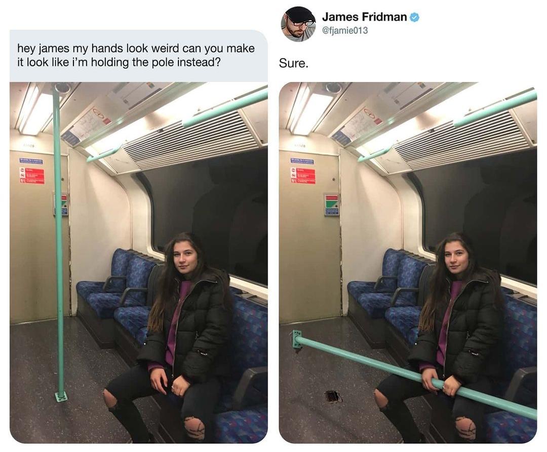 Funny Photoshop Edits by James Fridman