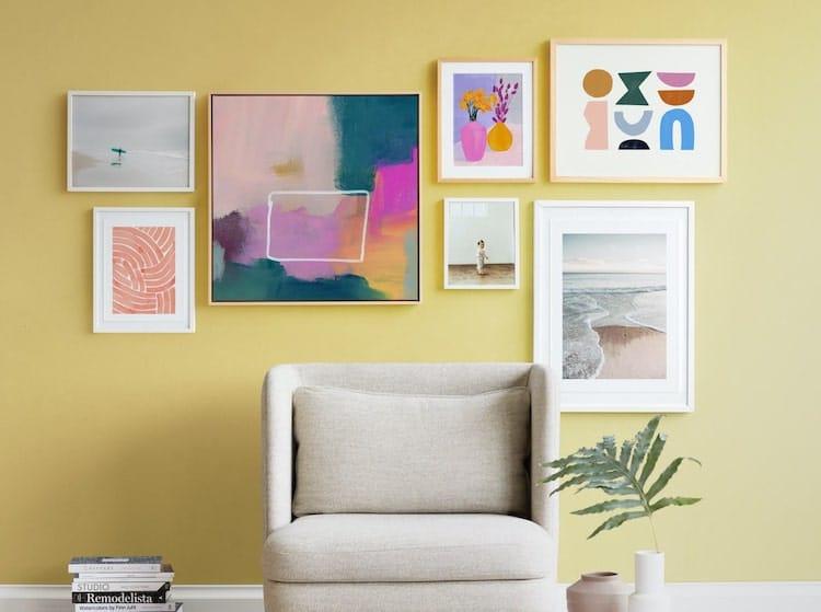 Contemporary Gallery Wall
