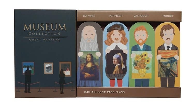 """Museum Collection : Marque-pages """"Grands Maîtres"""""""