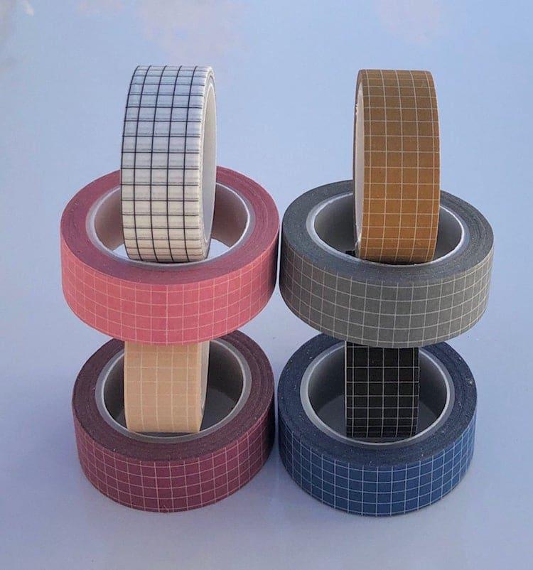 Grid Washi Tape