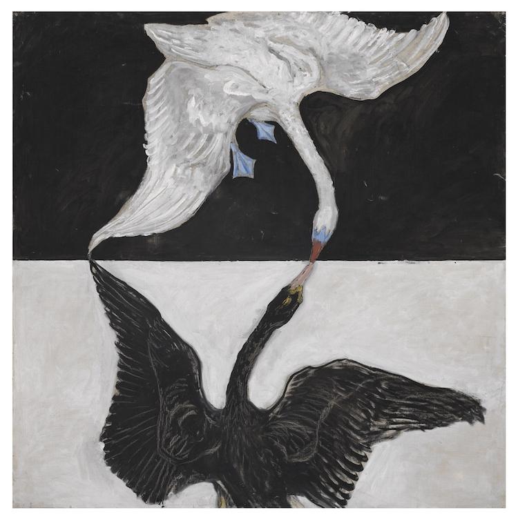 The Swan No 1 de Hilma af Klint