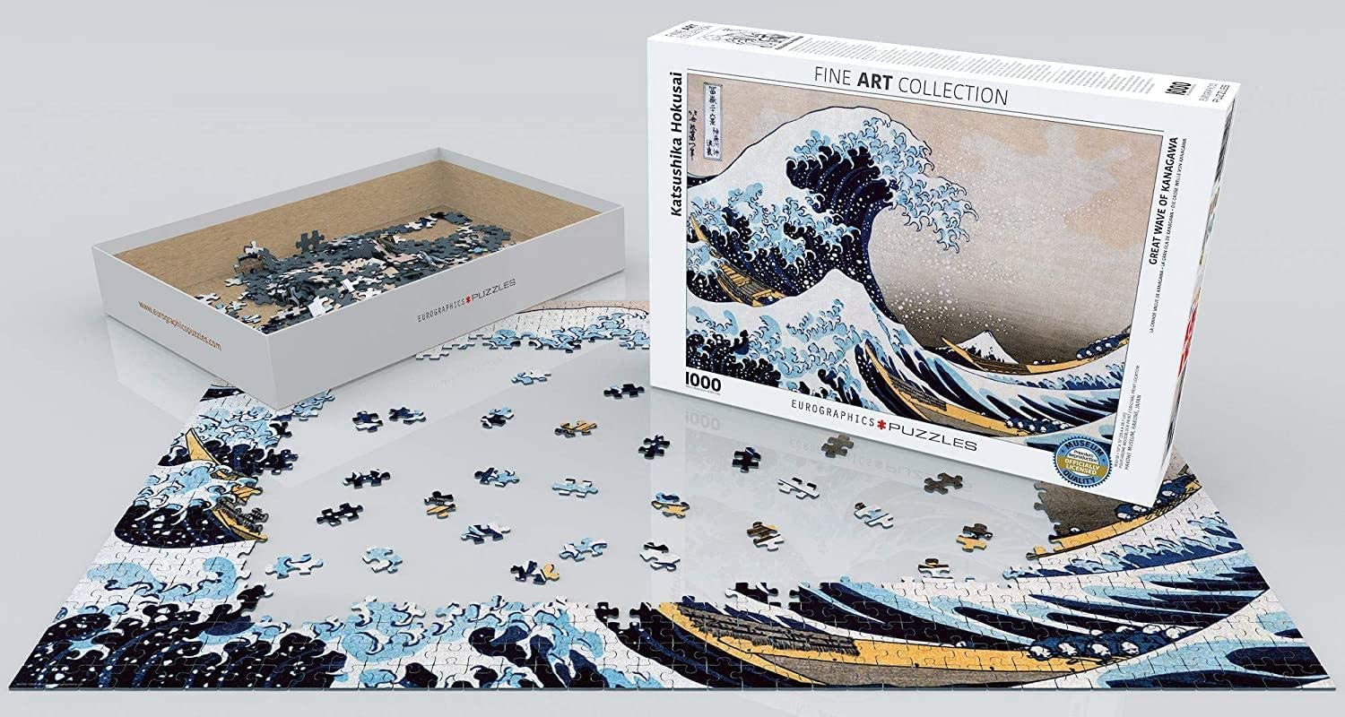 The Great Wave Puzzles