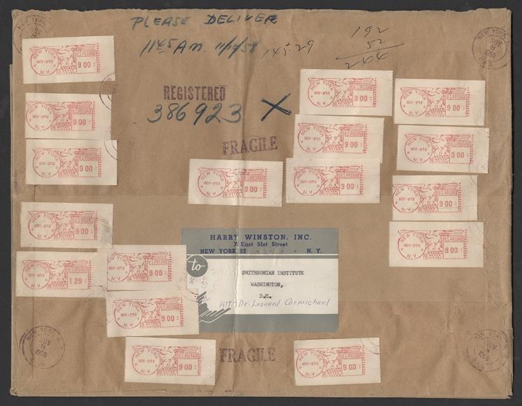 Hope Diamond Mailing Package
