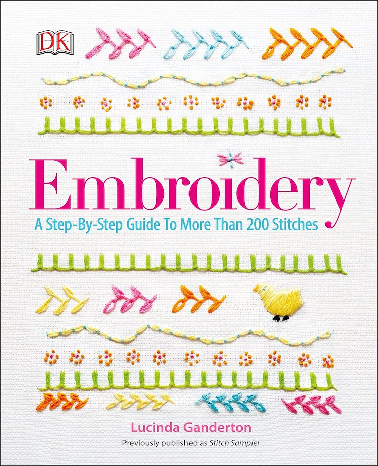 Embroidery Book Cover