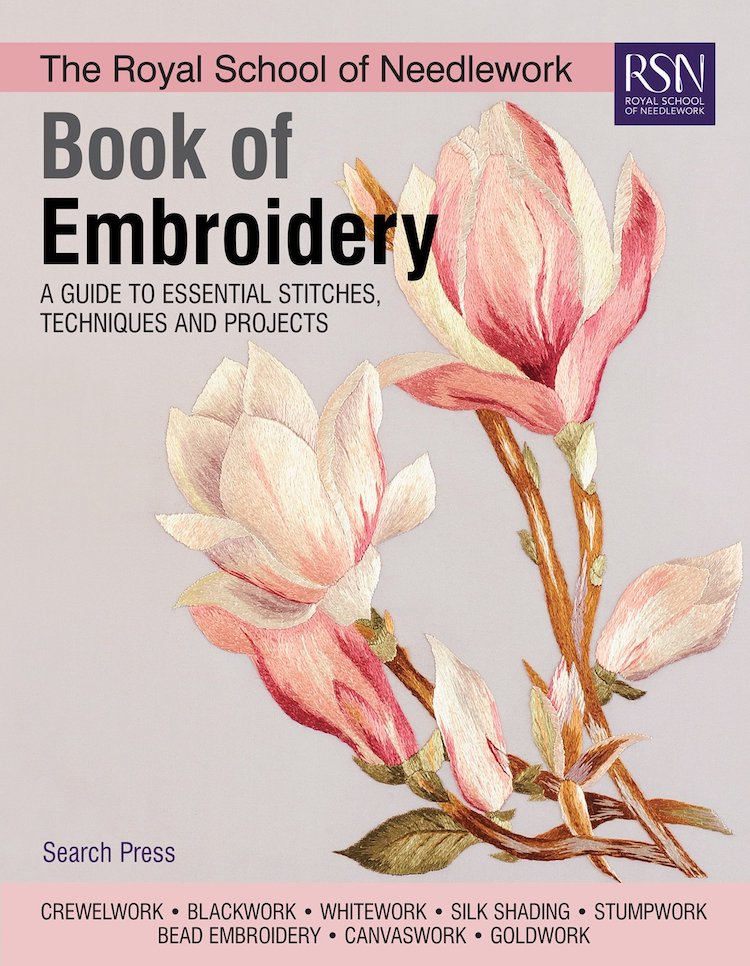 Book of Embroidery Cover