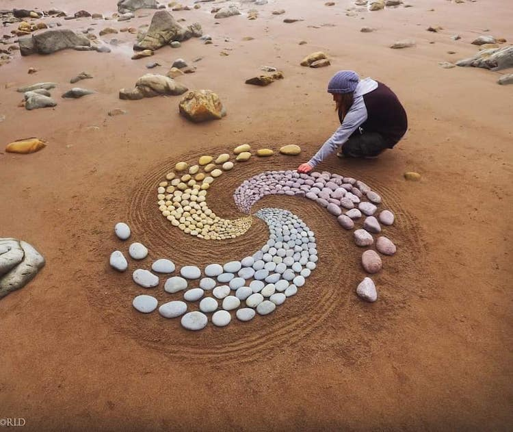Beach Art by Jon Foreman