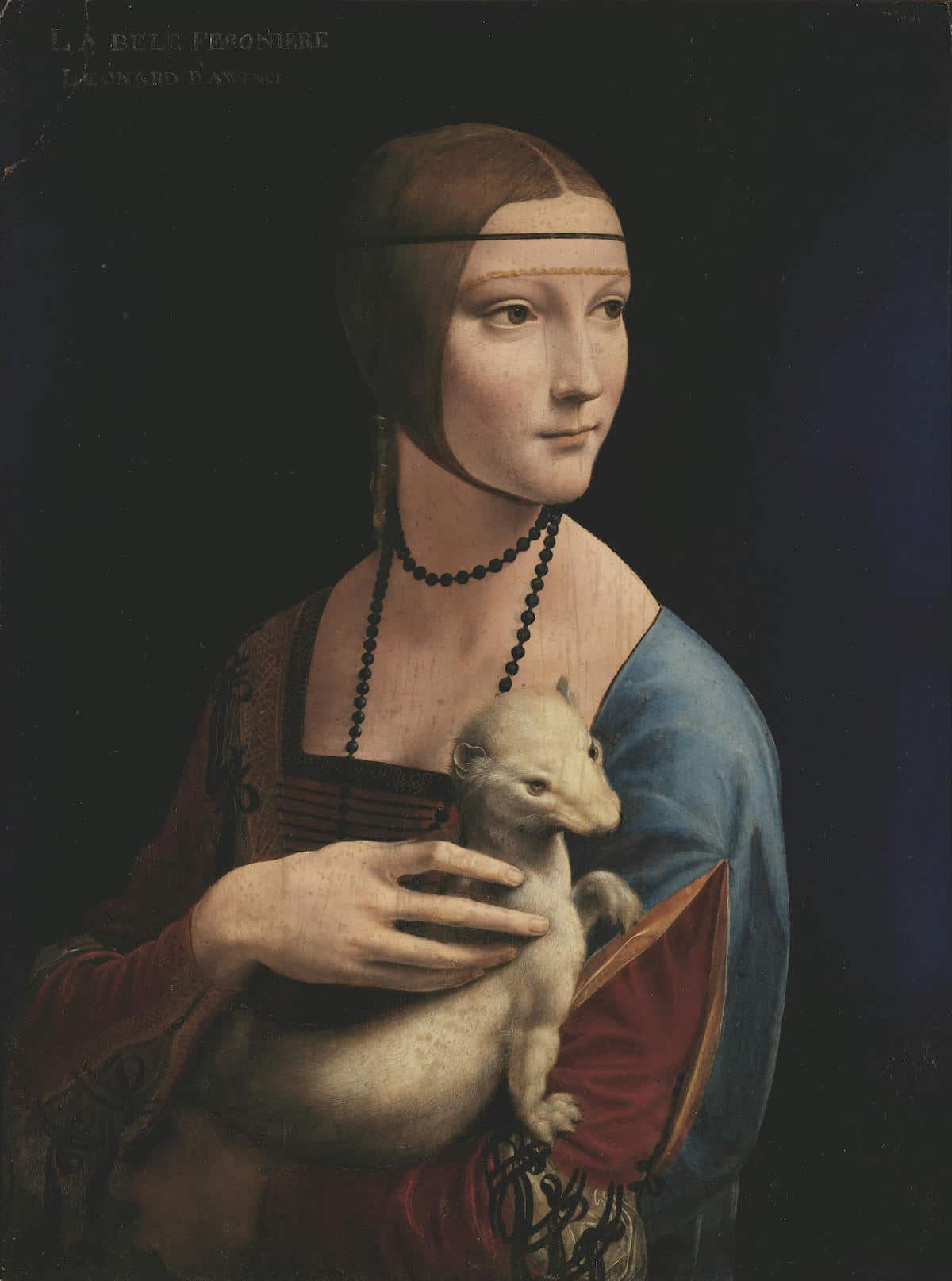Lady With an Ermine Painting by Leonardo da Vinci